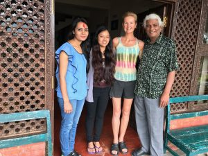 Dr Samichha, Dr Rumee, me and Badri